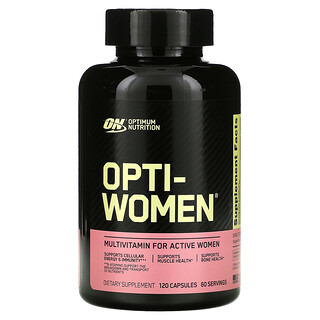 Optimum Nutrition, Opti-Women(オプチウーマン)、120粒