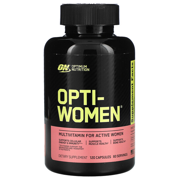 Optimum Nutrition, Opti-Women(オプチウーマン)、120粒