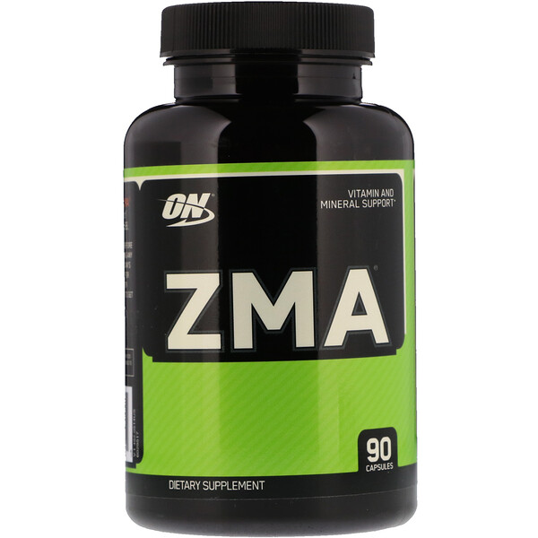 Optimum Nutrition, ZMA, 90 капсул