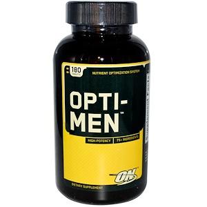 Оптимум Нутришэн, Opti-Men, Nutrient Optimization System, 180 Tablets отзывы покупателей