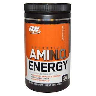 Optimum Nutrition, Essential Amino Energy, Orange Cooler, 9.5 oz (270 g)