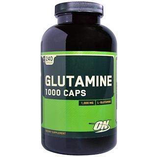 Optimum Nutrition, Glutamine, 1,000 mg, 240 Capsules