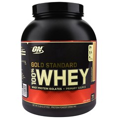 Optimum Nutrition, Gold Standard、100% ホエイ、モカカプチーノ、5 lbs (2.27 kg)