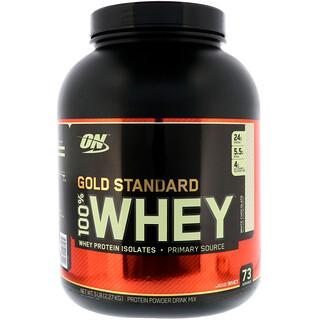 Optimum Nutrition, Gold Standard, 100% Whey, White Chocolate, 5 lb (2.27 kg)