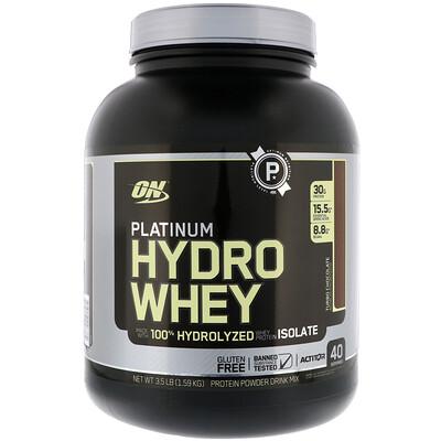 Спортивное питание Platinum Hydrowhey со вкусом шоколада, 1.590 г