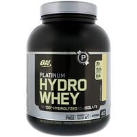 Platinum Hydrowhey, Velocity Vanilla, 3.5 lbs (1,590 g) - фото