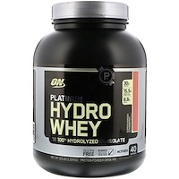 Platinum Hydrowhey, Supercharged Strawberry, 3.5 lbs (1,590 g) - фото