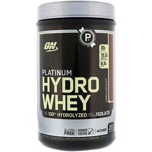 Оптимум Нутришэн, Platinum Hydro Whey, Turbo Chocolate, 1.75 lbs (795 g) отзывы покупателей