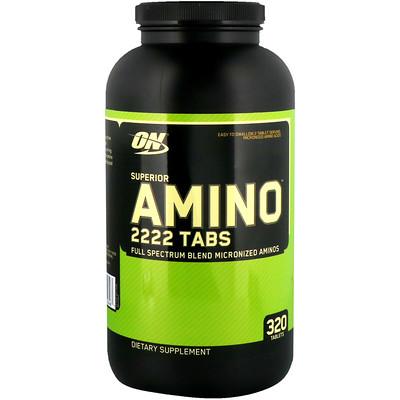Superior Amino 2222 Tabs, 320 таблеток