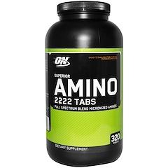 Optimum Nutrition, Superior Amino 2222 タブ、320 錠