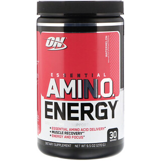 Optimum Nutrition, Essential Amin.O. Energy, Watermelon, 9.5 oz (270 g)