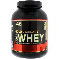 Золотой стандарт, 100% сыворотка, шоколад  кокос , 5 фунтов (2.27кг) - фото