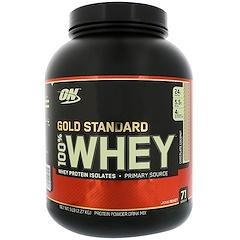 Optimum Nutrition, معيار الذهب، 100% مصل الحليب، شوكولاتة جوز الهند، 5 باوند (2.27 كلغ)