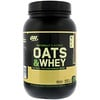 Optimum Nutrition, Oats & Whey Protein Powder Drink Mix, Milk Chocolate, 3 lbs (1,36 kg)