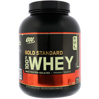 Gold Standard, 100% сывороточный протеин, кофе, 5 фунтов (2,27 кг) - фото