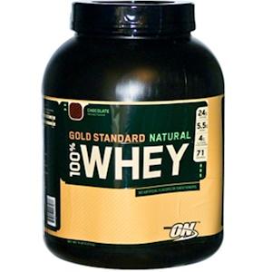 Оптимум Нутришэн, 100% Whey Gold Standard Natural, Chocolate, 5 lbs (2,273 g) отзывы