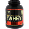 Optimum Nutrition, Whey Padrão Ouro 100%, Rocky Road, 5 lbs. (2,27 kg.)