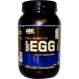 Optimum Nutrition, Gold Standard 100% Egg, Rich Chocolate, 2 lbs (909 g)