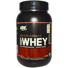 Optimum Nutrition, 100% Whey Gold Standard, Chocolate duplamente rico, 2 lb (909 g)