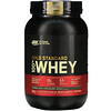 Optimum Nutrition, Gold Standard 100% Whey, Double Rich Chocolate, 2 lb (907 g)