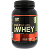 Optimum Nutrition, Gold Standard 100% 유청, 초콜릿 민트, 2 파운드 (907 g)