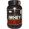 Optimum Nutrition, (オプティマムニュートリション)ゴールドスタンダード・ホエイ100%、クッキー・アンド・クリーム、2ポンド(909 g)