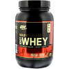 Optimum Nutrition, Gold Standard, 100% Whey, Delicious Strawberry, 2 lb (909 g)