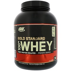 Optimum Nutrition, Gold Standard, 100% Whey, Double Rich Chocolate, 5 lbs (2,27 kg)