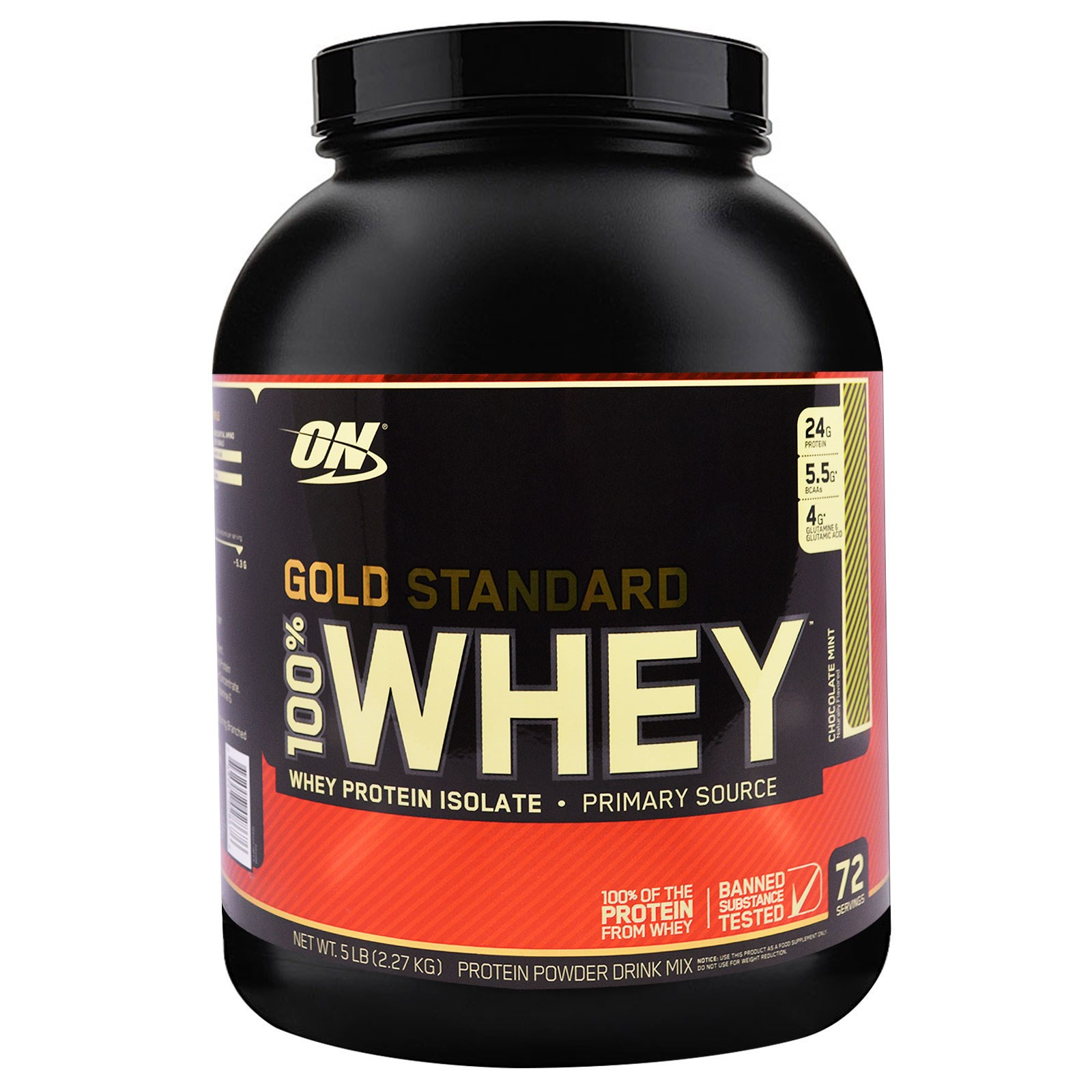 Gold Standard Whey Protein Nutrition Label – Besto Blog