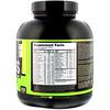 Optimum Nutrition, Serious Mass, порошок для набора веса (гейнер) с высоким содержанием протеина, вкус банан, 2720 г (6 lb)