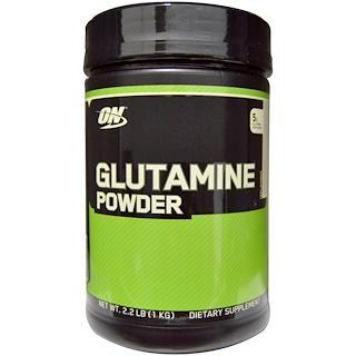 Optimum Nutrition, Glutamine Powder, Unflavored, 2.2 lbs (1 kg)