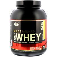 100% Whey Gold Standard, со вкусом банана, 5 фунтов (2,27 кг) - фото