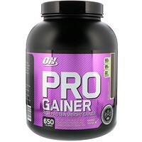 Pro Gainer, средство для набора веса (гейнер) с высоким содержанием протеина, двойной шоколад, 2310 г (5.09 lb) - фото