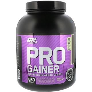 Optimum Nutrition, Pro Gainer, Double Chocolate, 5.09 lbs (2.31 kg)