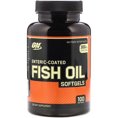 Купить Рыбий жир с кишечнорастворимым покрытием, 100 мягких желатиновых капсул