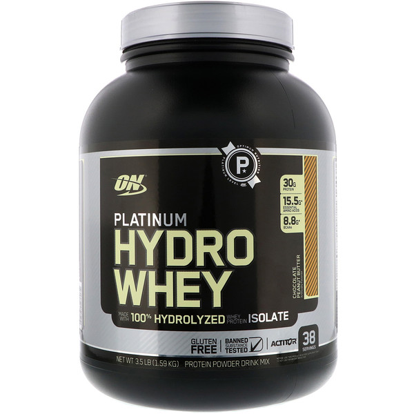 Platinum Hydro Whey, Chocolate Peanut Butter, 3.5 lbs (1.59 kg)