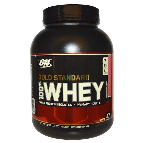 Protein Shaker Optimum Nutrition: Optimum Nutrition, Gold Standard, 100% Whey Protein Powder
