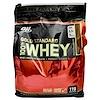 Optimum Nutrition, ゴールドスタンダード100%ホエイ・ダブルリッチチョコレート、3.63kg (Discontinued Item)