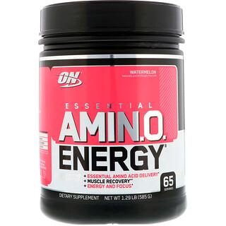 Optimum Nutrition, اسنشيل أمينو انرجي، البطيخ ، 1.29 رطل (585 غرام)