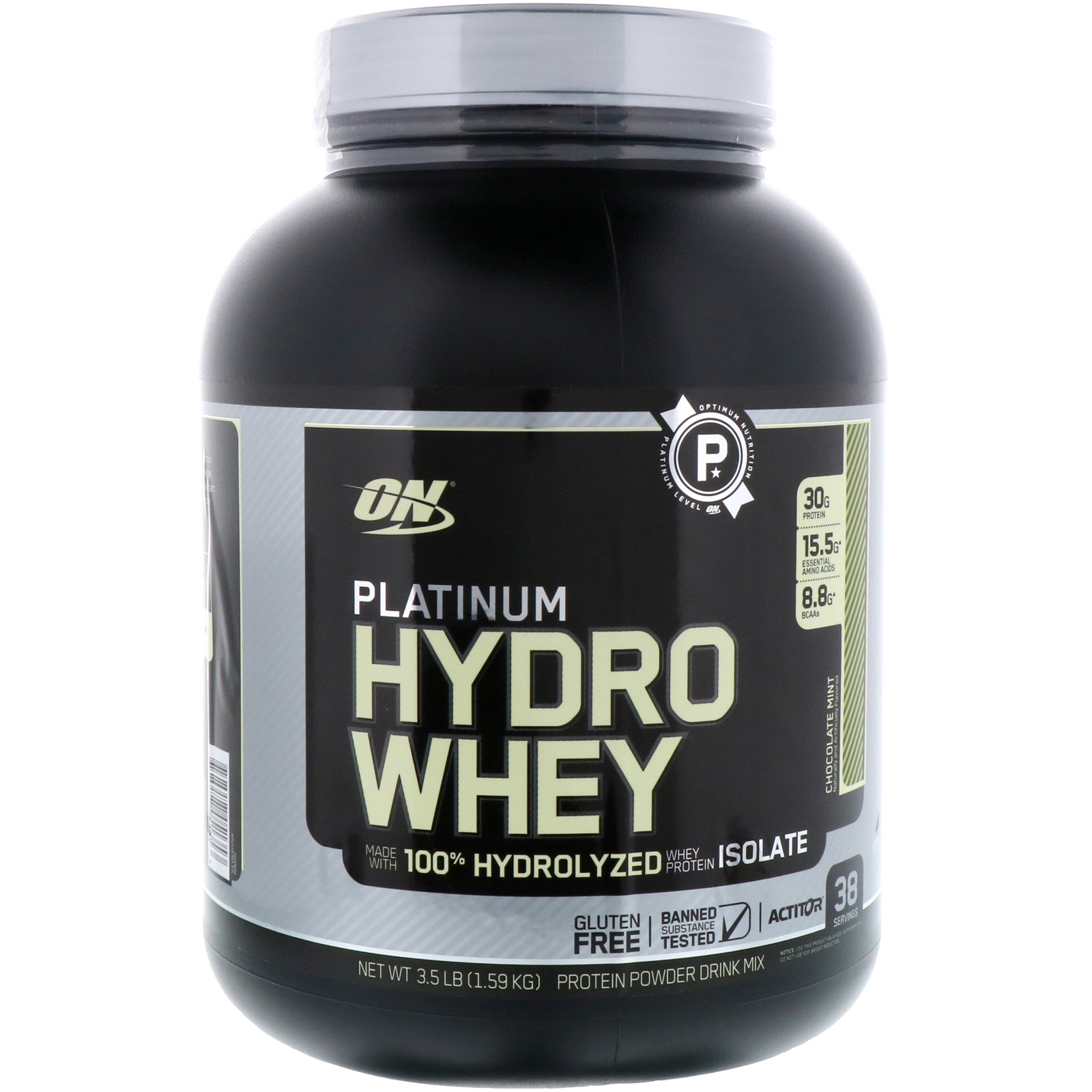 Optimum Nutrition Platinum Hydrowhey Chocolate Mint  Lbs