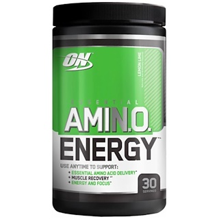Optimum Nutrition, Essential Amino Energy, Lemon Lime, 0.6 lbs, 30 servings
