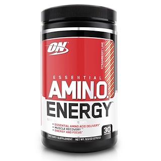 Optimum Nutrition, Essential Amino Energy, Strawberry Lime, 9.5 oz (270 g)