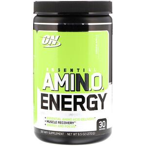 Оптимум Нутришэн, ESSENTIAL AMIN.O. ENERGY, Green Apple, 9.5 oz (270 g) отзывы
