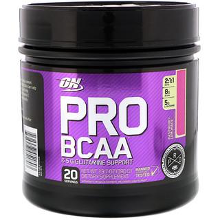 Optimum Nutrition, Pro BCAA, Raspberry Lemonade, 13.7 oz (390 g)