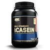 Optimum Nutrition, Gold Standard 100% казеин, клубничные сливки, 909 г (2 фунта)