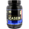 Optimum Nutrition, Gold Standard 100% Casein, Strawberry Cream, 2 lbs (909 g)