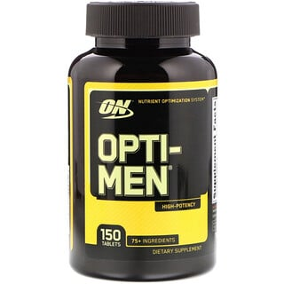 Optimum Nutrition, Opti-Men, 150 Tabletes