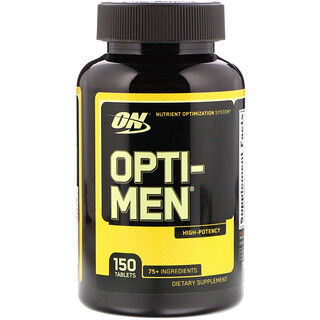Optimum Nutrition, Opti-Men, 150 Tablettes
