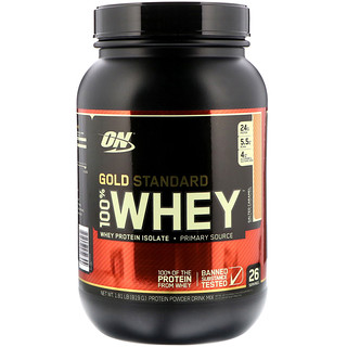 Optimum Nutrition, Gold Standard, 100% Whey, Salted Caramel, 1.81 lbs (819 g)