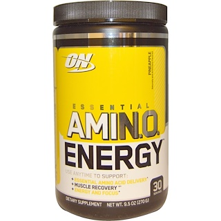 Optimum Nutrition, Essential Amino Energy, Pineapple, 9.5 oz (270 g)